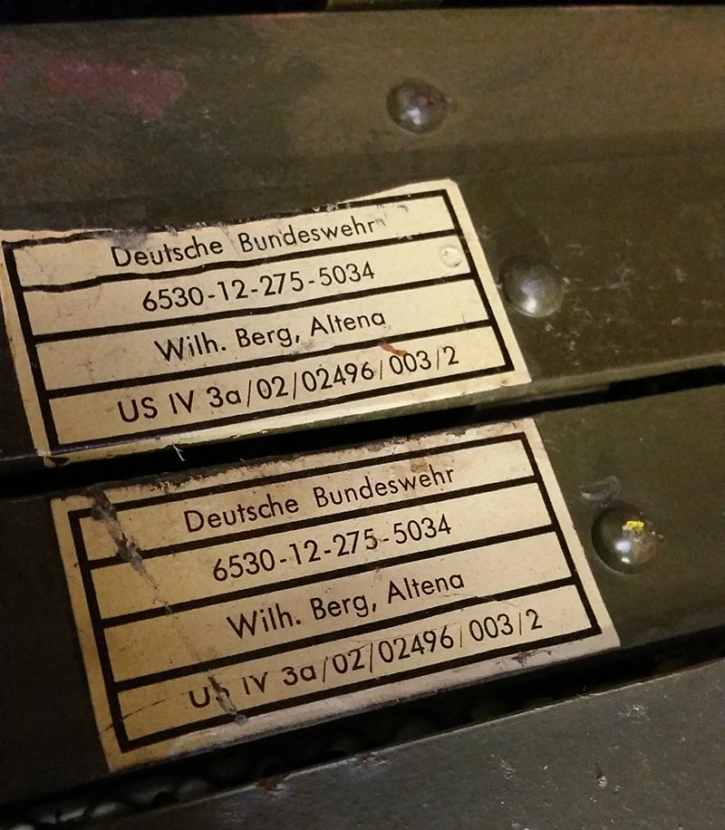 Bundeswehrbetten Zertifikat